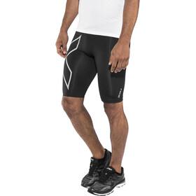 2XU Run Compression Shorts Herre Black/Silver Reflective